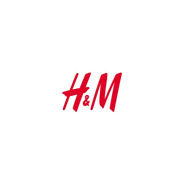 H and M Logo ❤ liked on Polyvore.