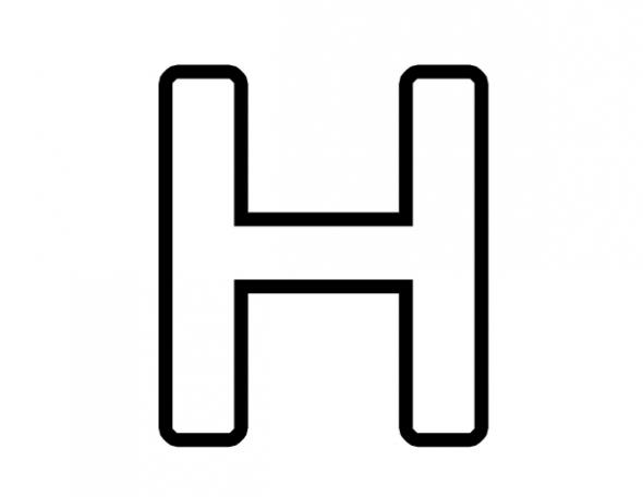 H Clipart.