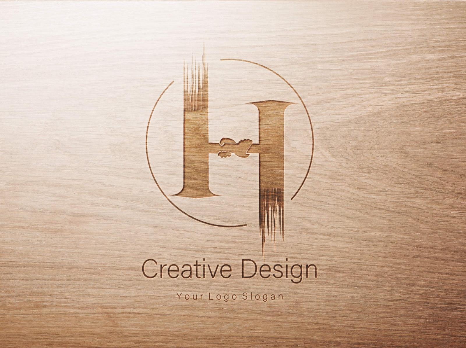 Logo Design H & hand. by Md. Yasin Khan on Dribbble.