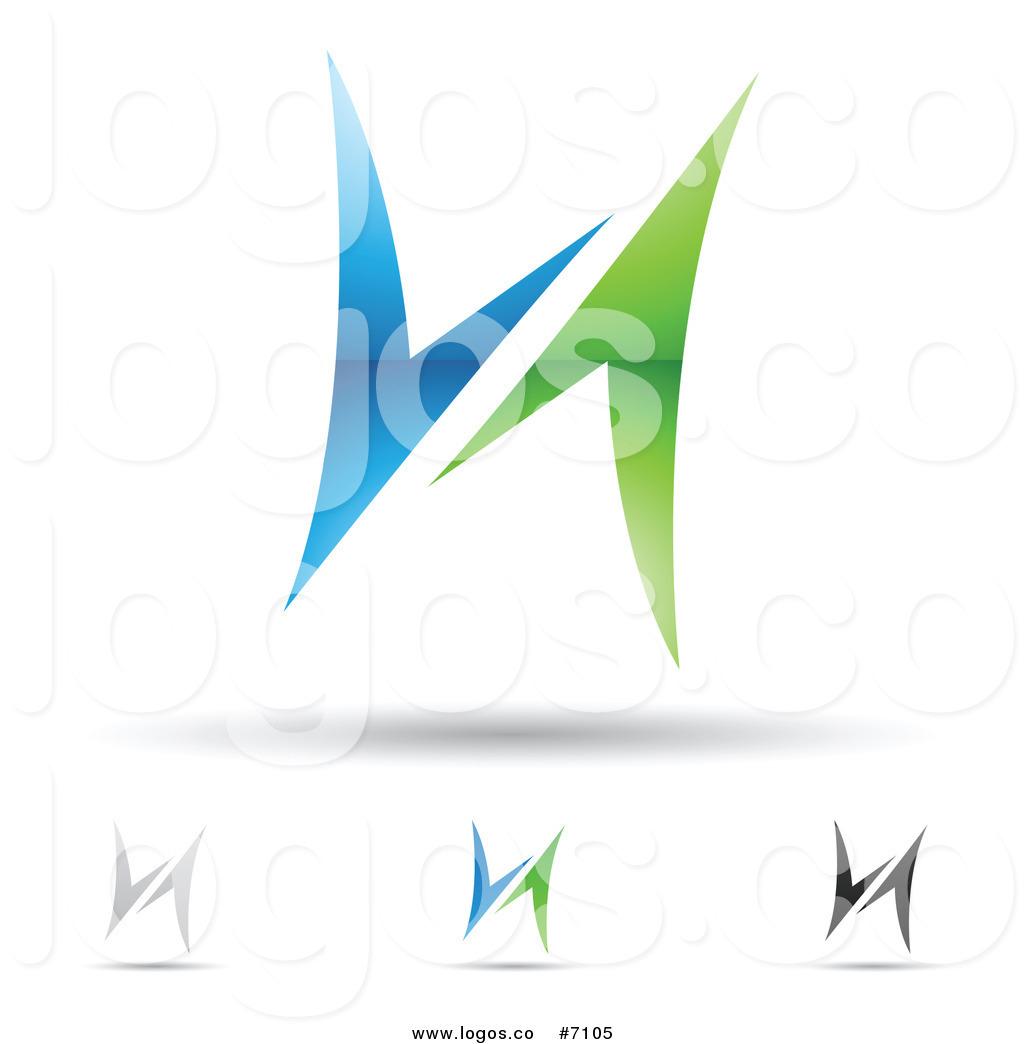 Royalty Free H Icon Stock Logo Designs.