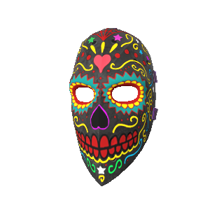 Day of the Dead Hockey Mask.