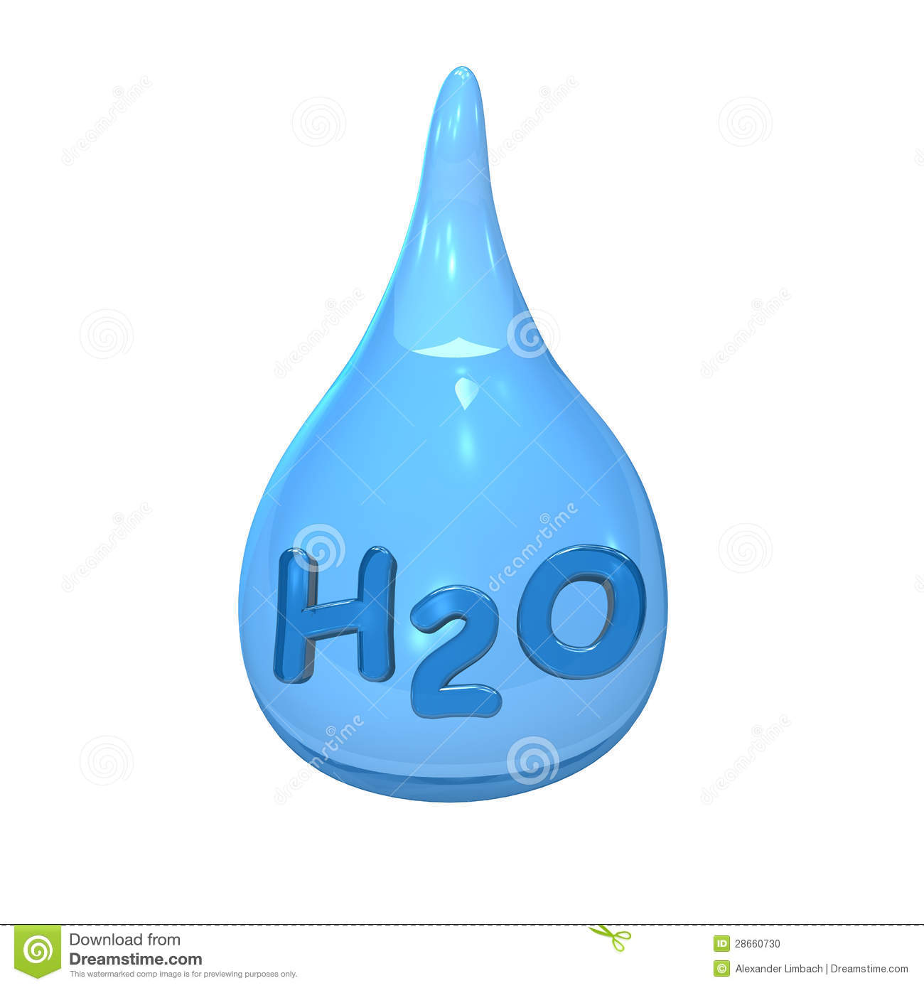 H2o Water Clipart.