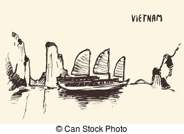 Halong bay Illustrations and Clip Art. 10 Halong bay royalty free.
