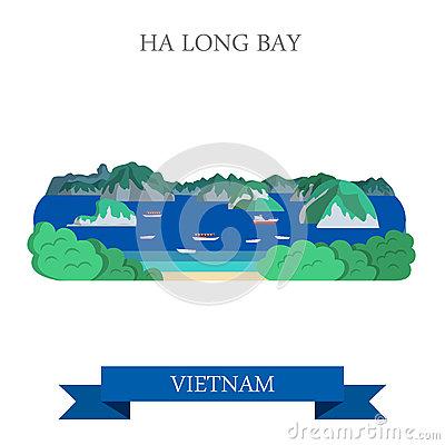 Ha Long Bay In Vietnam Attraction Tourist Attraction Landmark.