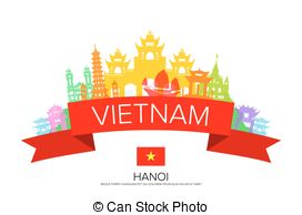 Hanoi vietnam Stock Illustrations. 439 Hanoi vietnam clip art.