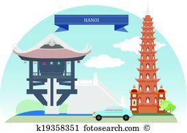 Hanoi Clip Art Vector Graphics. 322 hanoi EPS clipart vector and.