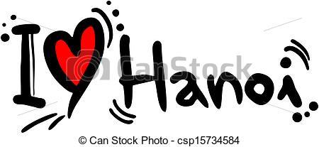 Vector of Hanoi love.