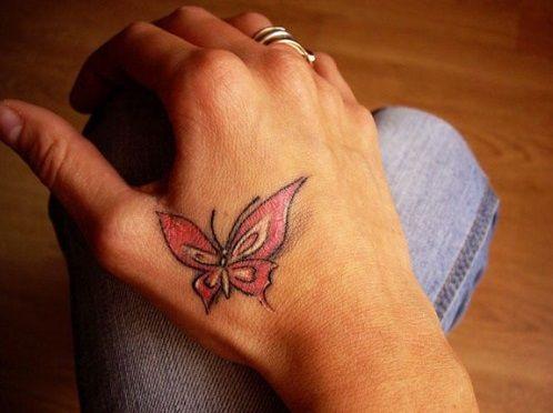 Lovely Hand Tattoos for Women.
