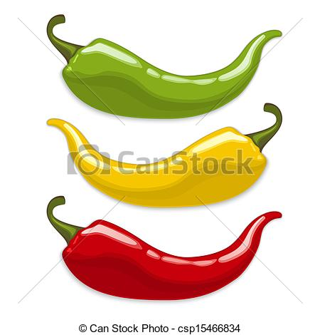 Habanero peppers clipart #6