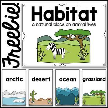 Habitat Clipart.