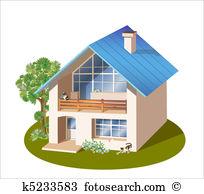 Habitation Clip Art Illustrations. 1,009 habitation clipart EPS.
