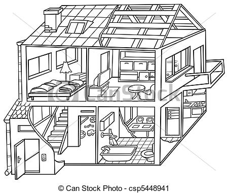Clip Art House Furniture Clipart.
