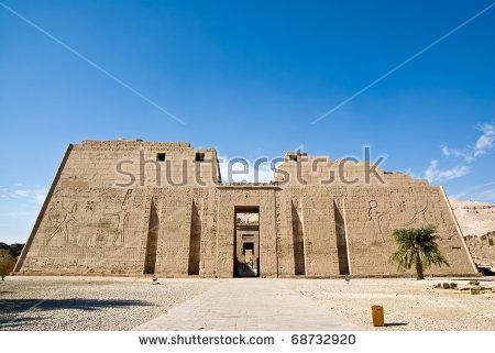 Medinet Habu Temple,Egypt,Luxor.