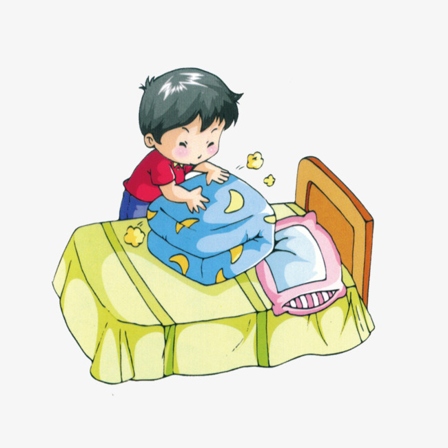 Make Bed Clipart Your Child Cup Basic Terrific 5.