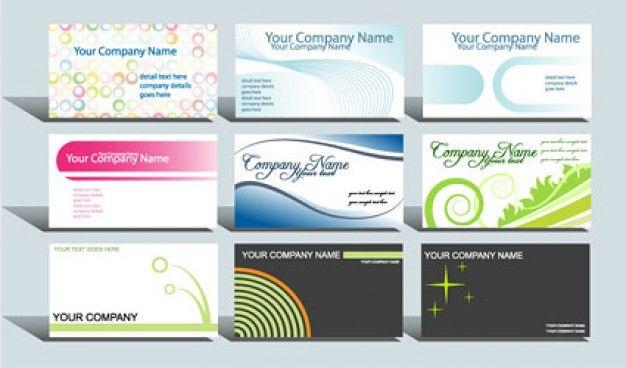 Descargar tarjetas de presentacion gratis para editar.