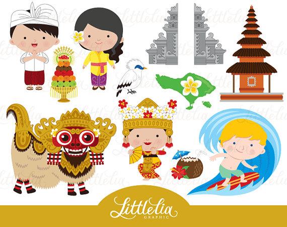 Bali imágenes prediseñadas.