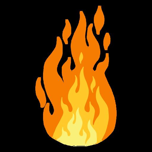 Fuego llama clipart.