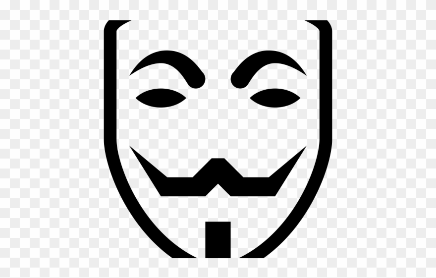 Hacker Clipart Guy Fawkes Mask.