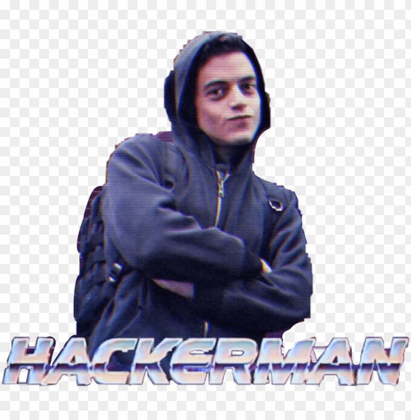 hackerman PNG image with transparent background.