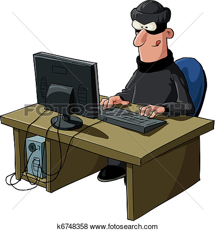 Hacking clipart.