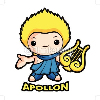 Download apollo cartoon clipart Apollo Hades Zeus.