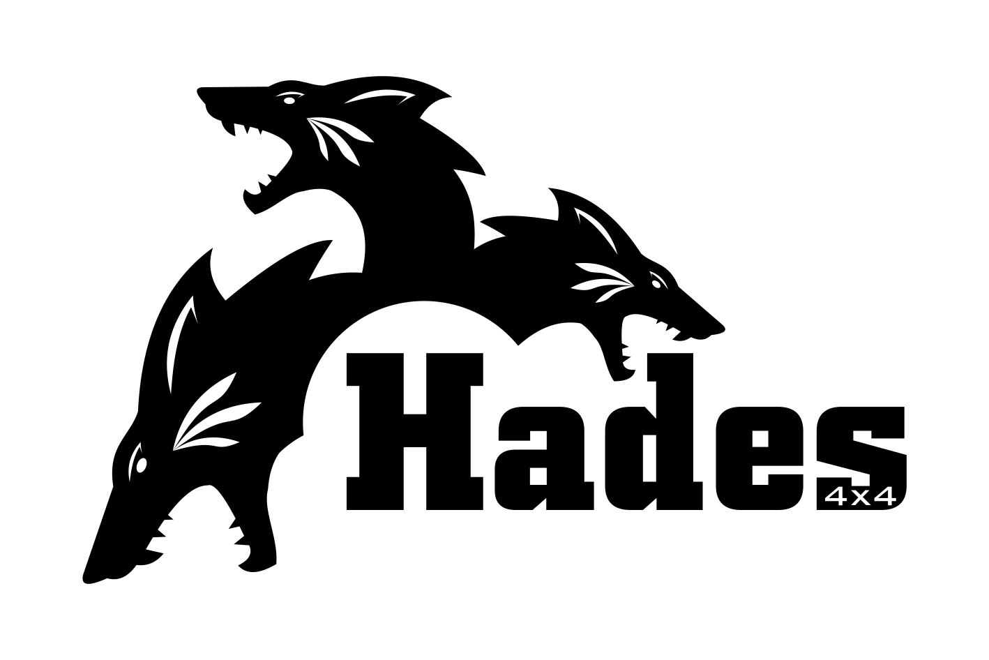 Business Logo Design for Hades 4x4 by ALSADESIGN.