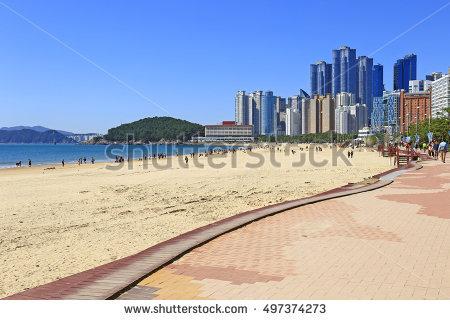 Haeundae beach clipart #6