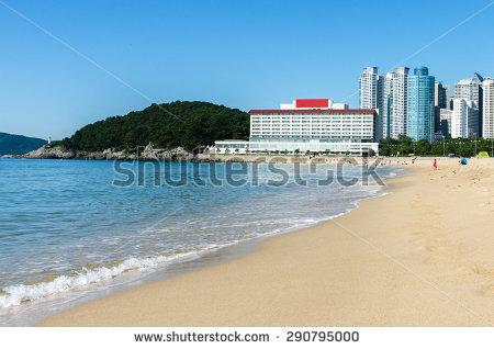 Haeundae beach clipart #7