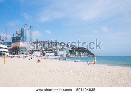 Korea Beach Stock Photos, Royalty.