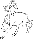 Royalty Free Horse Clipart.