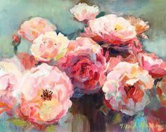 paintings of flowers.