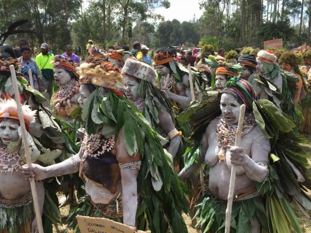 The Papua New Guineans are generous and welcoming