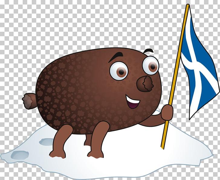Haggis Cartoon Scottish cuisine Fish , burgers PNG clipart.