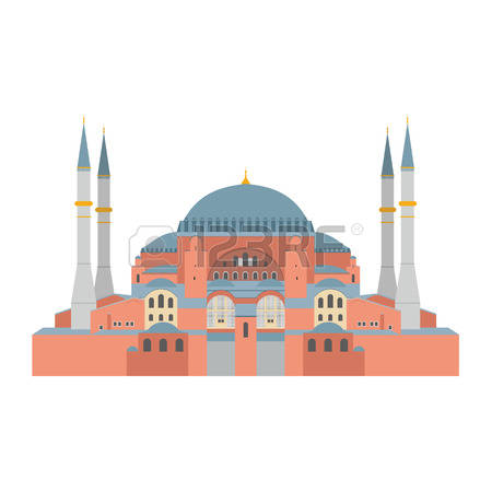 125 Istanbul Hagia Sophia Stock Vector Illustration And Royalty.