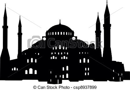 EPS Vectors of Hagia Sofia.