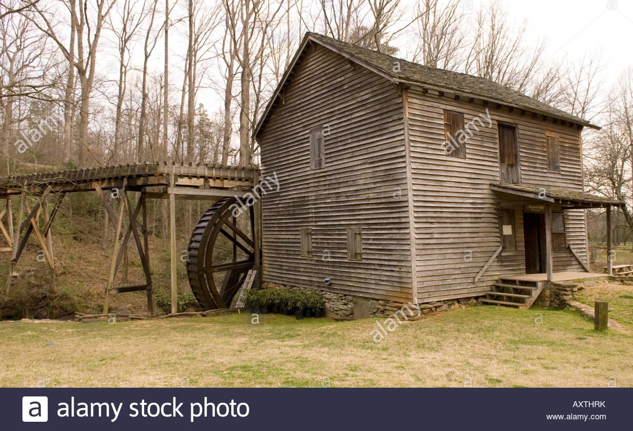 Hagood Grist Mill Pickens South Carolina Usa Stock Photo, Royalty.