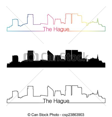 The hague skyline Stock Illustrations. 22 The hague skyline clip.