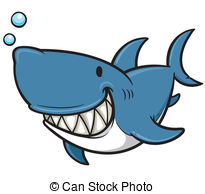Great white shark Vector Clipart Royalty Free. 685 Great white.