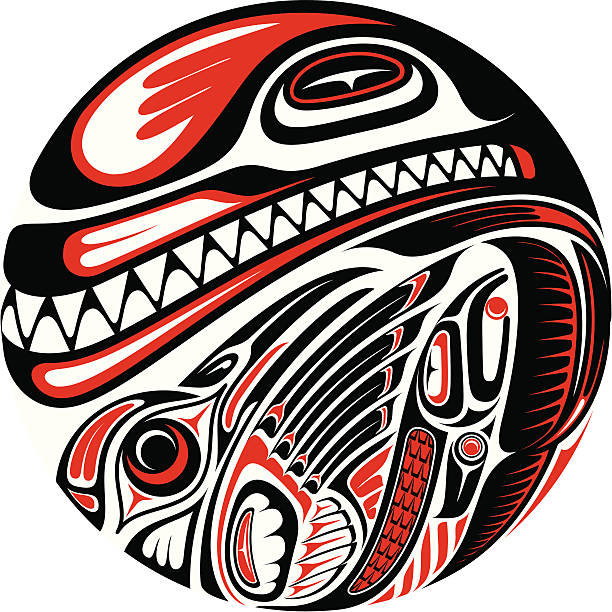 Best Haida Illustrations, Royalty.