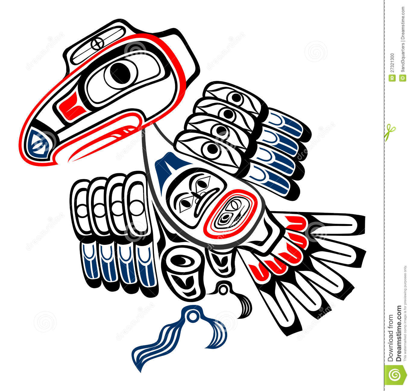 Haida Stock Illustrations.