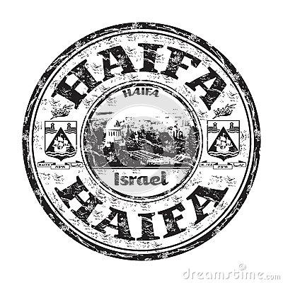 Haifa Stock Illustrations.