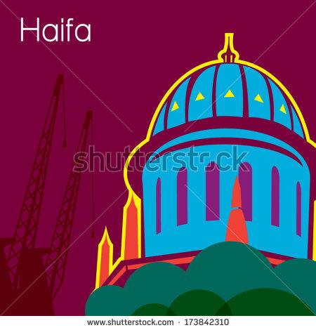 Haifa Israel Stock Vectors, Images & Vector Art.