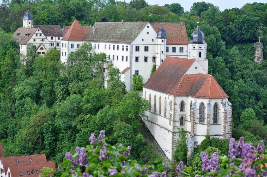 Schloss Haigerloch (und Kirche), Haigerloch DE.