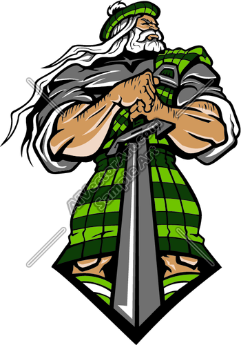 highlanderj021 Clipart and Vectorart: Sports Mascots.