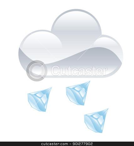 Hail cloud clipart.
