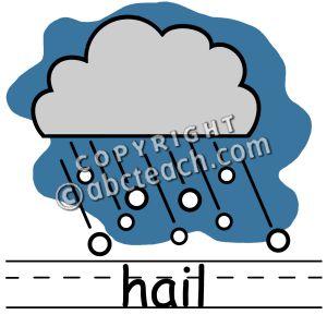 Hail clipart.