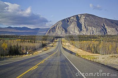 Police Car Dummy, Haines Junction, Yukon, Canada Editorial Image.
