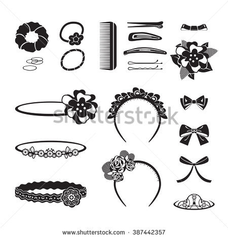 Hair Clip Stock Photos, Royalty.