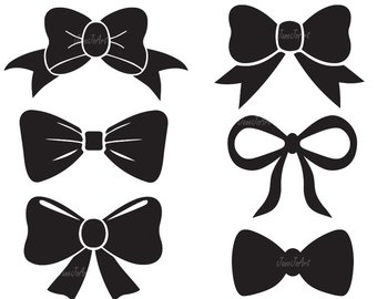 Hair Bow Clipart Black And White (101+ images in Collection) Page 1.