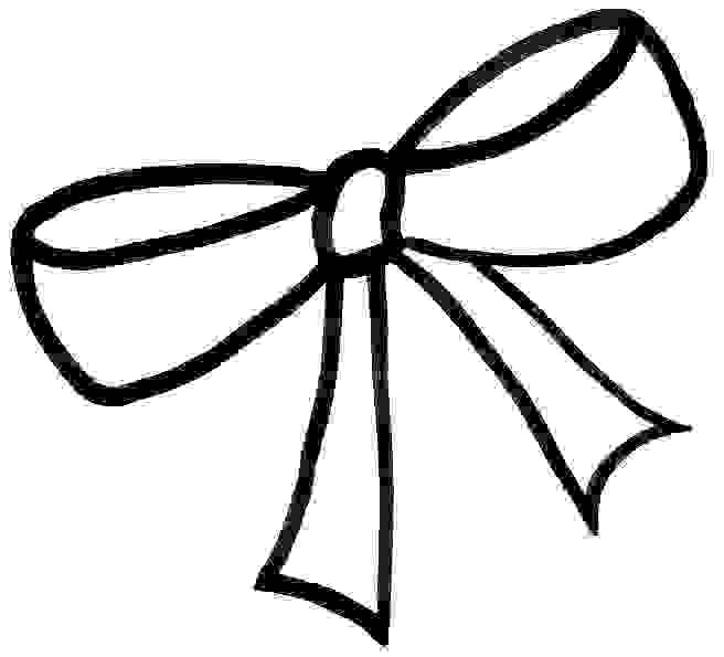 Hair Bow Clipart.